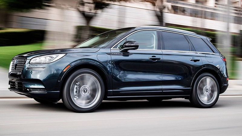 2021 Lincoln Corsair Grand Touring Build A Rent Of Cost Beyond Base Model