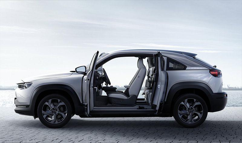 2021 Mazda Mx 30 Actieradius Autonomia Dk Dane