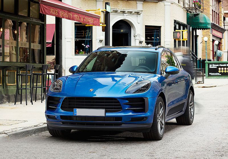 2021 Porsche Macan New Model Neues Modell Adaptive
