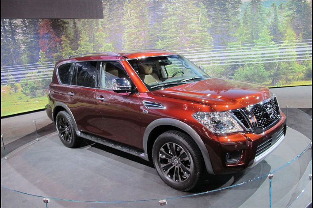 2020 Nissan Armada Off Road Commercial 0 60