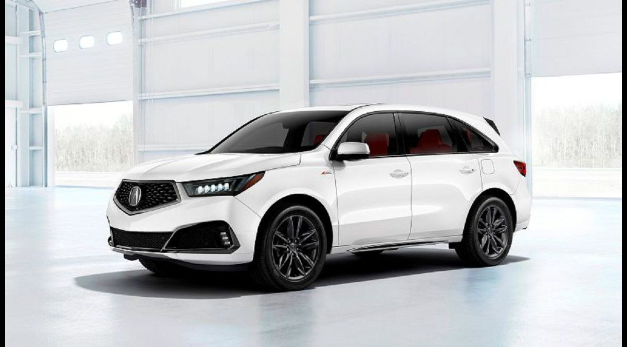 2021 Acura Rdx Refresh Changes Photos Reviews Hybrid Images Mat Cargo