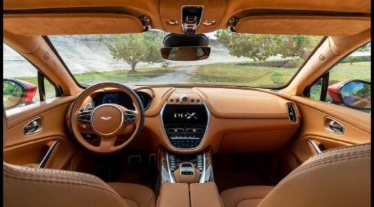 2021 Aston Martin Dbx Suv The Most Rivals Interior