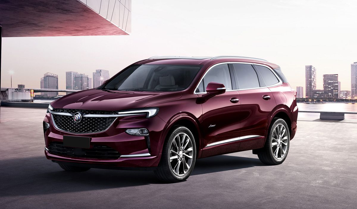 2021 Buick Enclave Specs And Dimensions V8 Review Premium ...