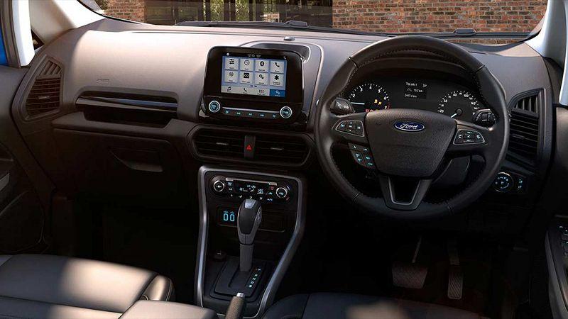 2021 Ford Ecosport Colombia Interior Europa Philippines Titanium