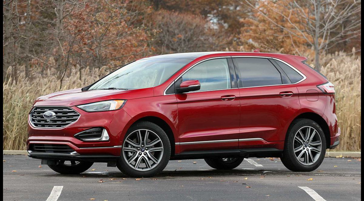 2021 Ford Edge Cargo Mat Lease Vs Escape Space Steering Wheel