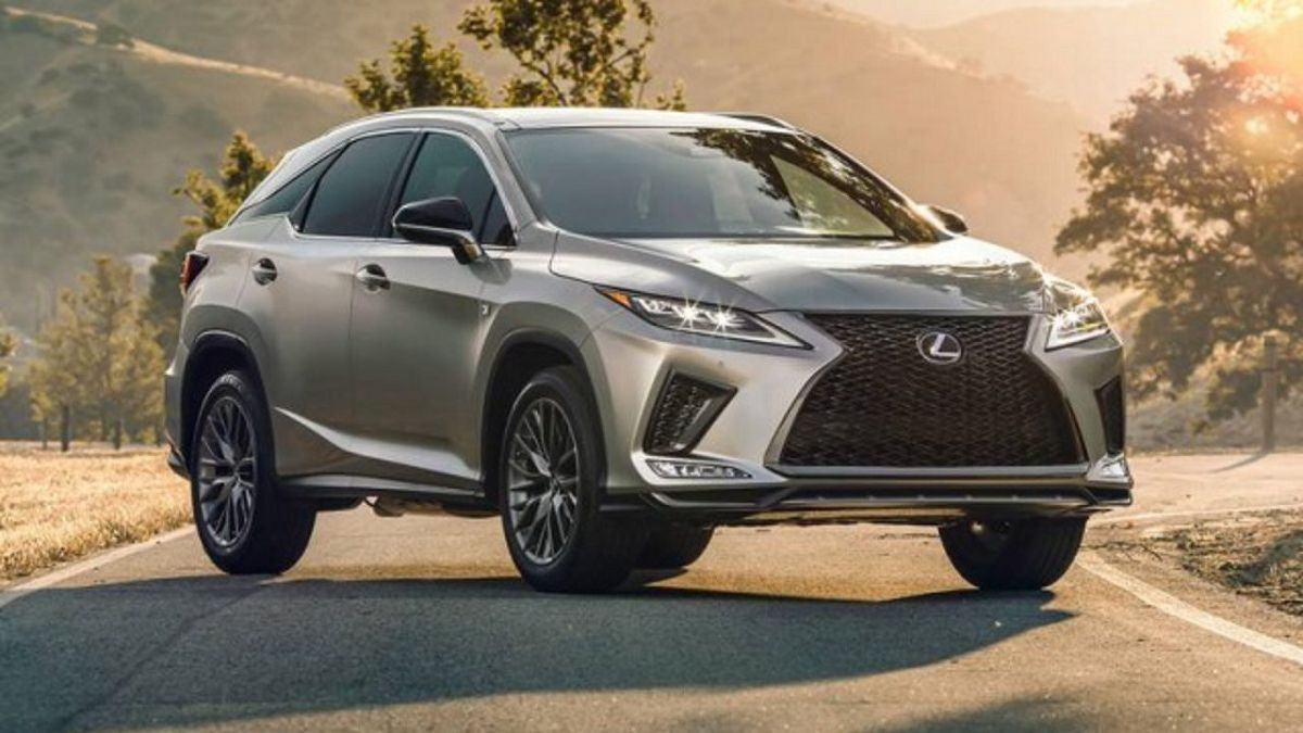 2021 Lexus Rx350 Changes Interior Upgrades F Sport Release Struts License