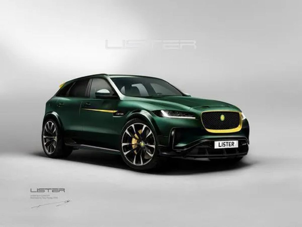 2021 Lister Stealth F Pace