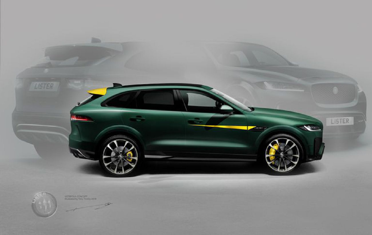 2021 Lister Stealth Parts