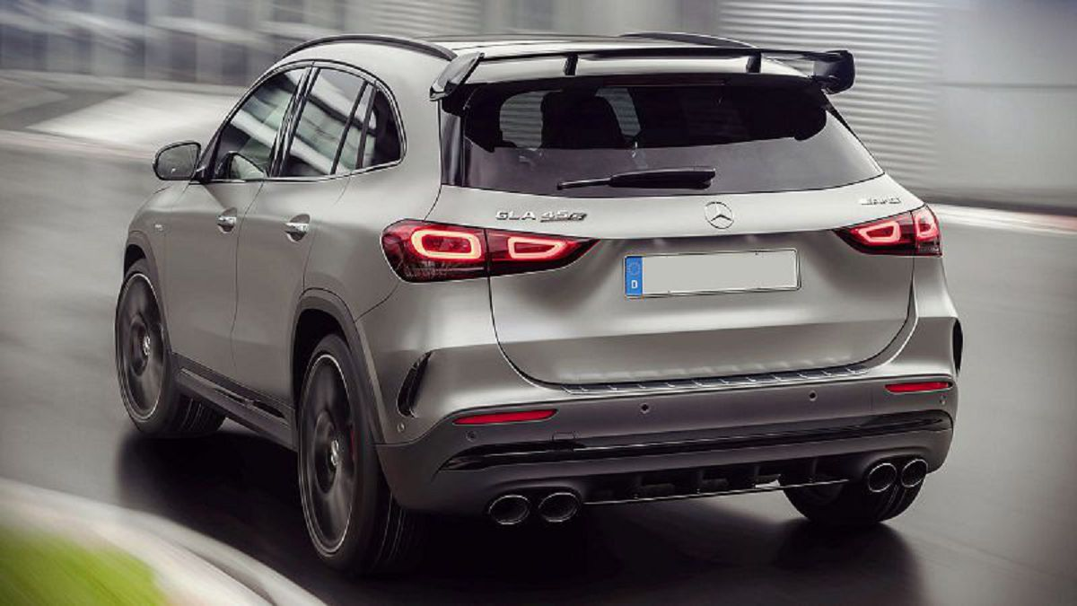 2021 Mercedes Gla Glamour Shot Problems Length Ground Clearance