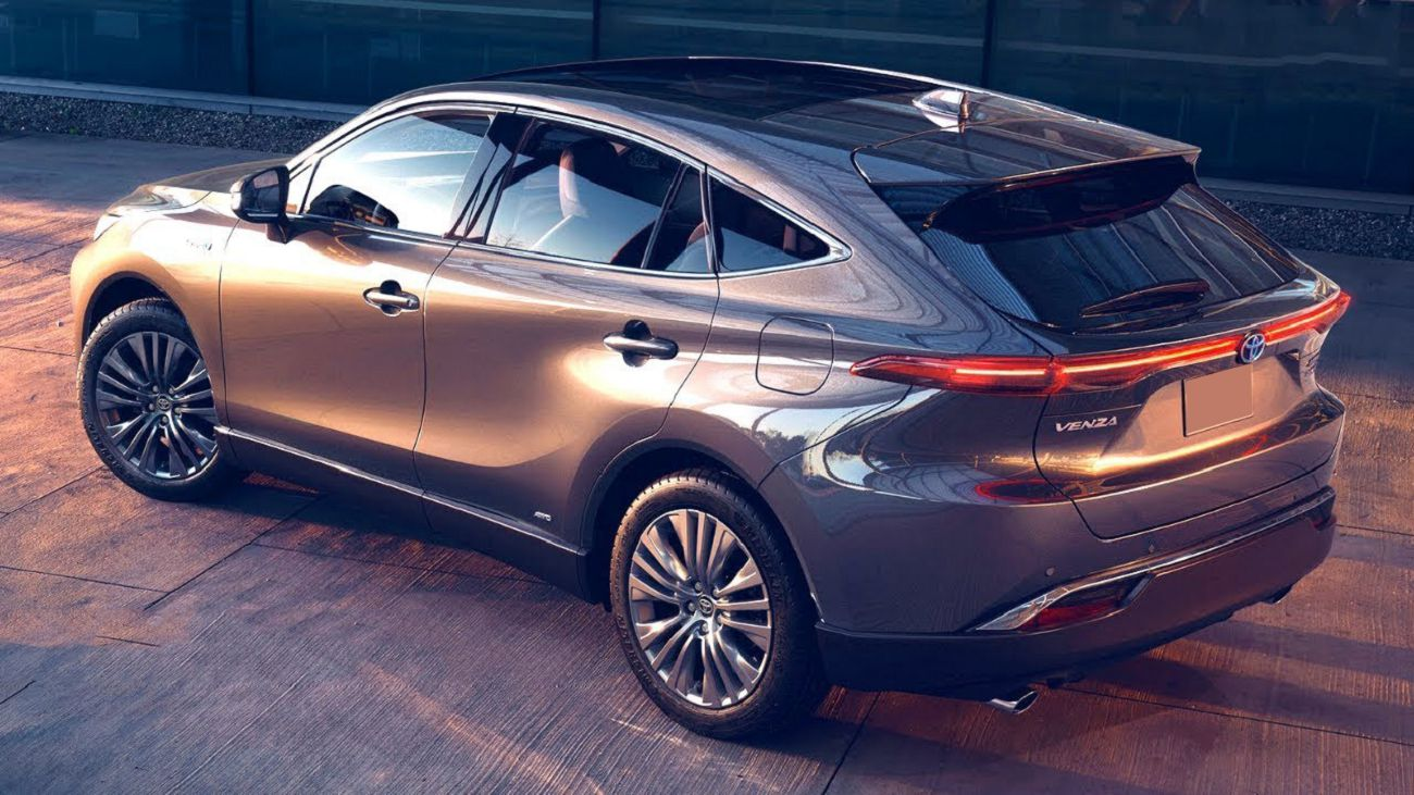 2021 Toyota Venza Changes Images