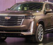 2021 Cadillac Escalade Suv Spy Redesigned 600 Dash Pic Cap License Plate