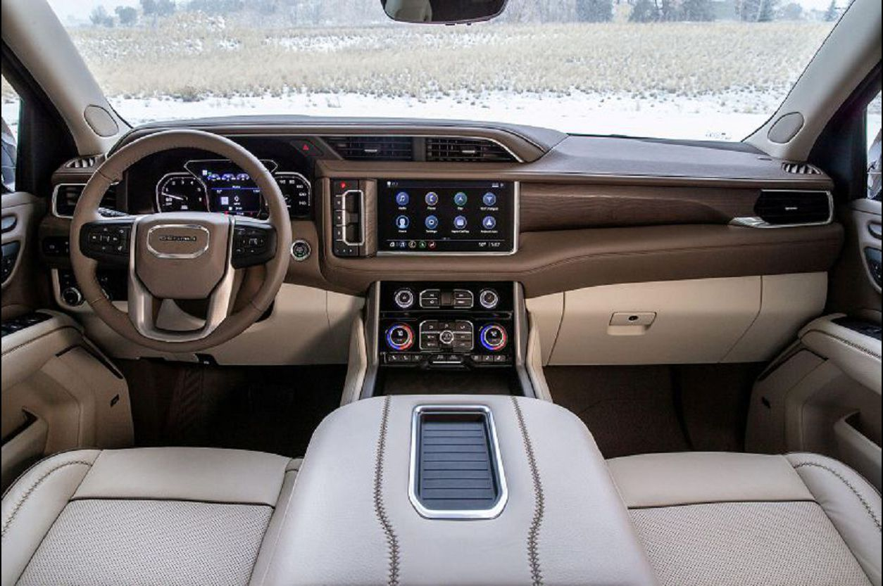 2021 Gmc Yukon Interior Diesel Review Leaked Picture Pictures