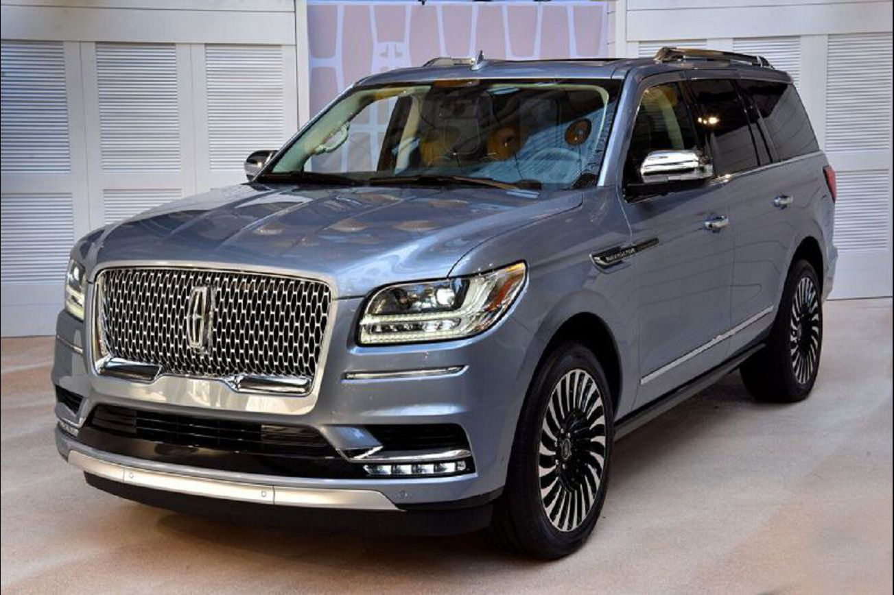 2021 Lincoln Navigator Interior L Doors Refresh Concept Review License Plate