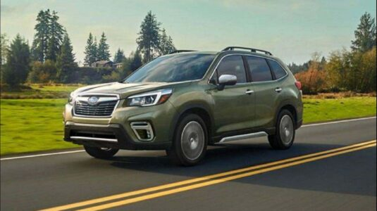 2021 subaru forester sti hybrid eboxer review design