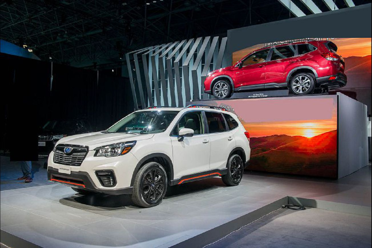 2021 subaru forester with manual transmission changes