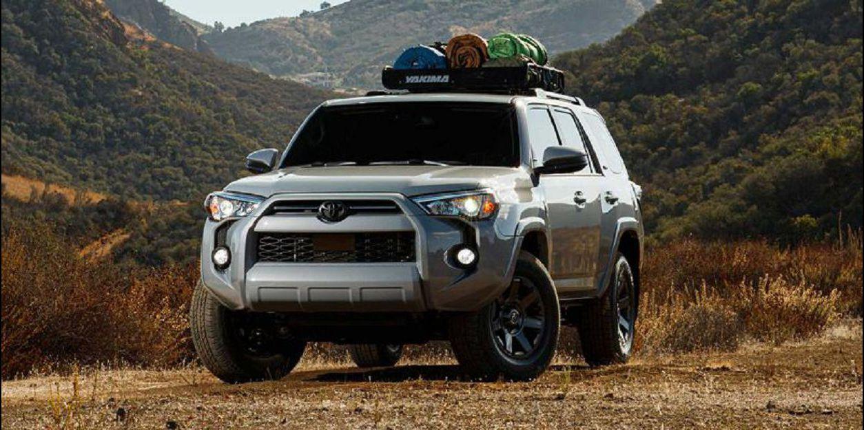2021 Toyota 4runner 4x4 Date Engine Inside Off Road Steering Wheel Wheels