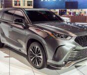 2021 Toyota Highlander Capacity Highlanderhlander Dimensions 2016