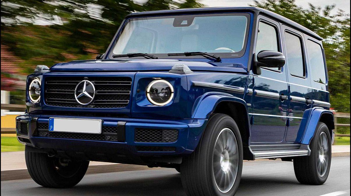 2022 Mercedes Benz G Class Ev Eqg 65 Game Wallpaper Accessories