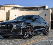 2022 Audi Rs Q8 Exhaust Drag Race Black Photos