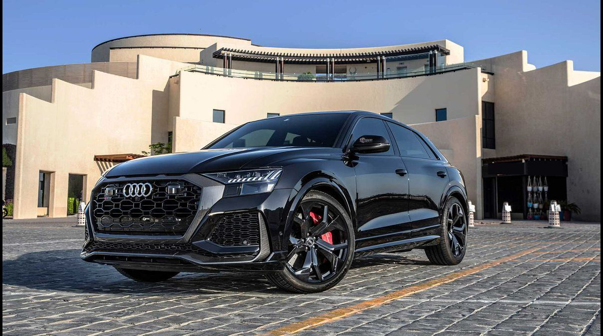 2022 Audi Rs Q8 Exhaust Drag Race Black Photos