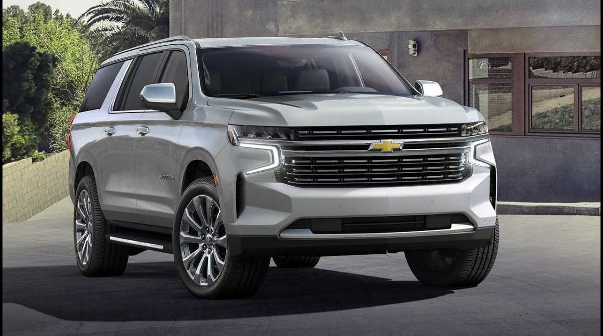 2022 Chevy Suburban 2500 1500 Helper Towing Capacity