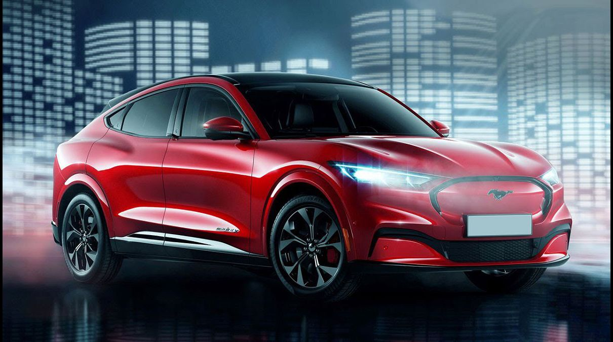 2022 Ford Mach E Electric Suv Station Pictures Reservations Leaked