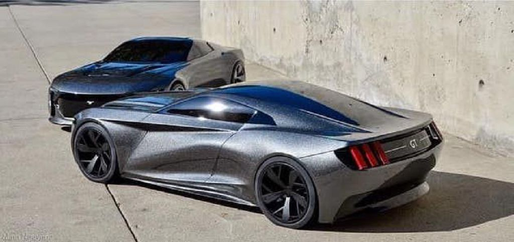 2022 Ford Mustang Redesign 4 Door