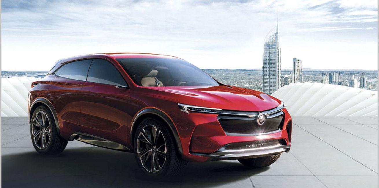 2022 Buick Enspire Luxury Crossover Image