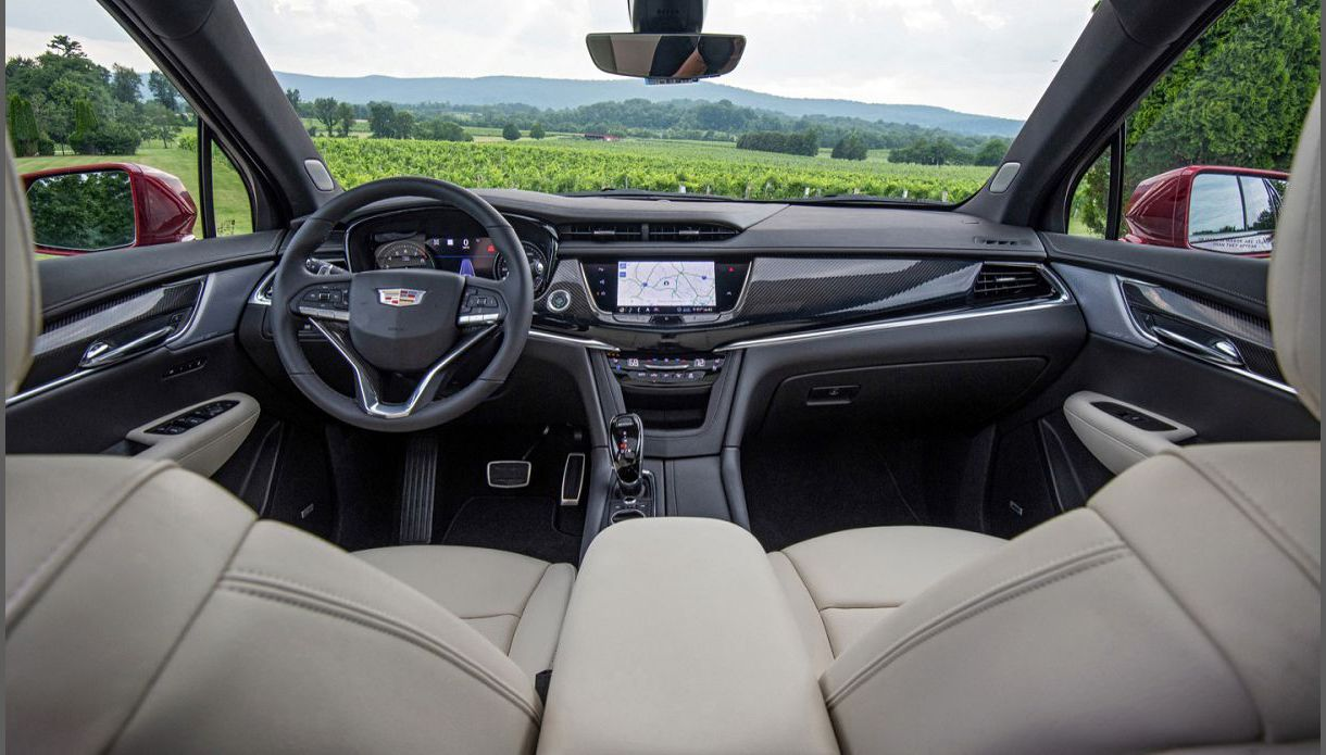2022 Cadillac Xt7 Used Lease Engine