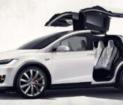 2022 Tesla Model X Near Me Blue Interior Performance Images