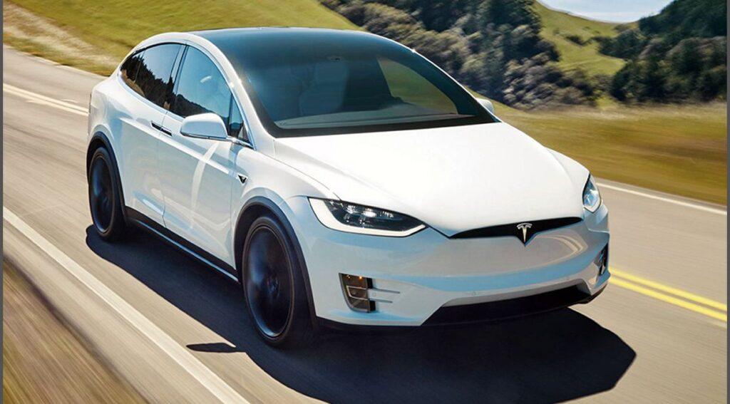 2022 Tesla Model X Used Jeep P100d Long Range Plus
