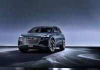 2020 Audi Q4 sedan interior pictures