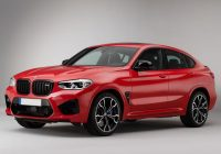 2020 BMW X4 M reviews in red