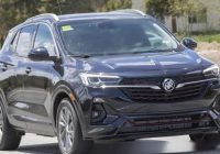 2020 Buick Encore GX reviews order guide height new drivetest