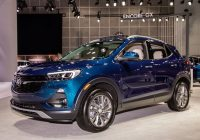 2020 Buick Encore GX test drive walkaround release date towing capacity preferred