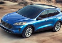 2020 Ford Escape se hybrid mpg engine titanium sel