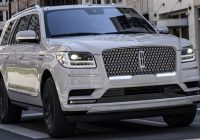 2020 Lincoln Navigator pictures info release date specifications photos images