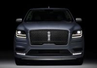 2020 Lincoln Navigator standard white brochure configurations black label review commercial