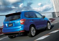 2020 Subaru Forester STI sport redesign colors review changes