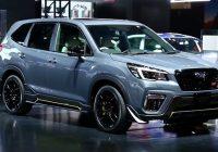 2020 Subaru Forester STI touring turbo hybrid dimensions premium