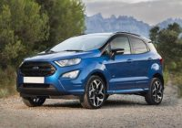 2021 Ford EcoSport review titanium