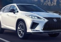 2021 Lexus RX f sport 350 changes 350 reviews